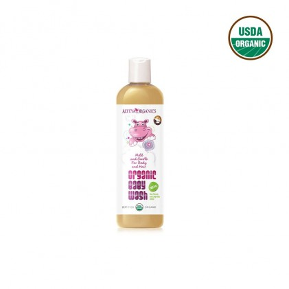 Sữa tắm cho bé Alteya Organics 400ml 2