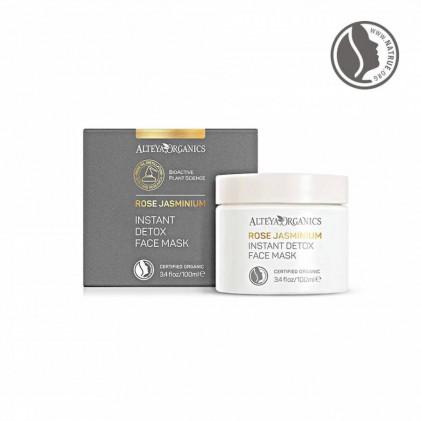 Mặt nạ thải độc hữu cơ Rose Jasminium Alteya Organics 100ml 2