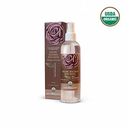Nước hoa hồng đỏ hữu cơ Alteya Organics dạng xịt 250ml 1