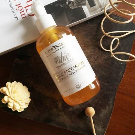 Review Sữa Rửa Mặt Hữu Cơ Alteya Organics Rose Face Wash Bio Damascena