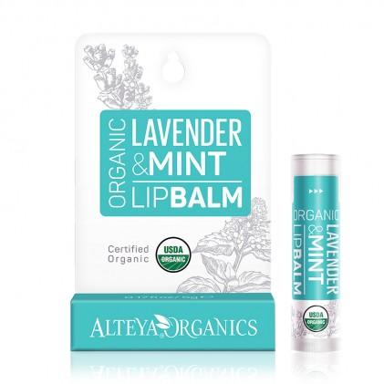 Son dưỡng môi Alteya Organics Lavender Mint (hương oải hương, bạc hà)