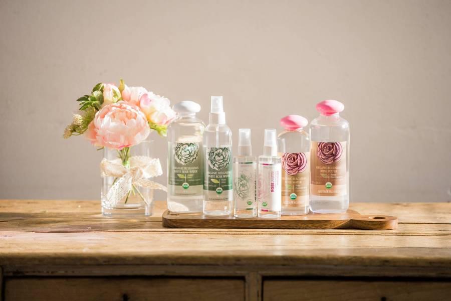 Lợi ích của nước hoa hồng 1