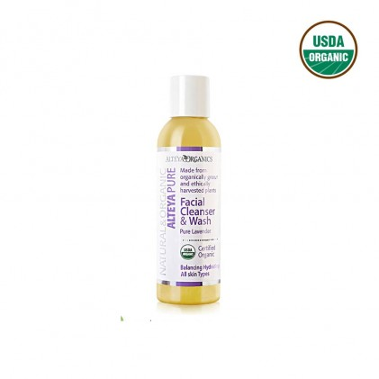 Sữa rửa mặt hữu cơ Alteya Organics hương hoa lavender 150ml 1