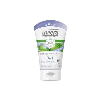 Sữa rửa mặt Lavera 3 trong 1 1