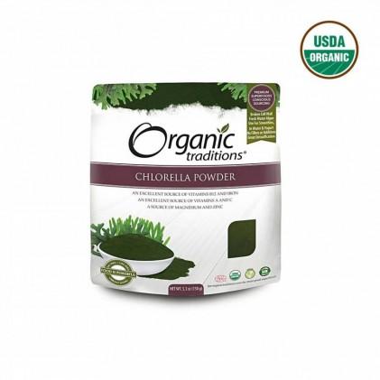 Tảo lục Chlorella hữu cơ Organic Traditions 1