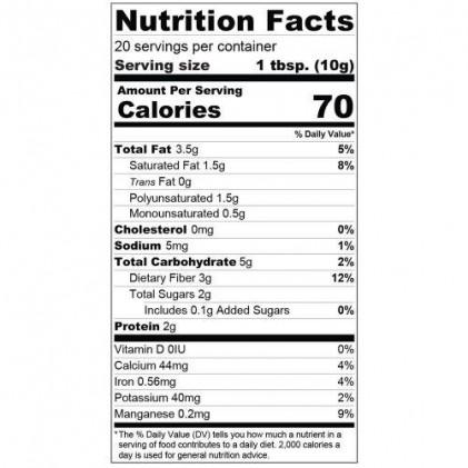 Lợi khuẩn cho đường ruột và hệ tiêu hóa Probiotic Organic Traditions vị chocolate & dừa 200g 3