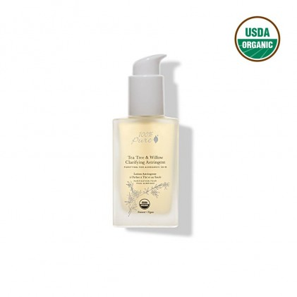 Toner trà xanh & liễu 100% Pure Tea Tree & Willow Clarifying Astringent 120ml 1