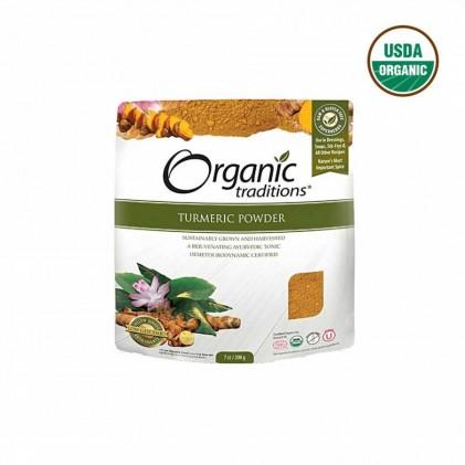 Bột nghệ hữu cơ Organic Traditions 200g 1