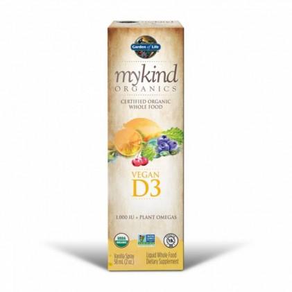 Vitamin D3 Mykind Organics dạng xịt 58ml 2
