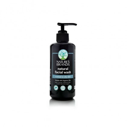 Sữa rửa mặt cho da thường và da dầu Nature's Brands Facial Wash 200ml 1
