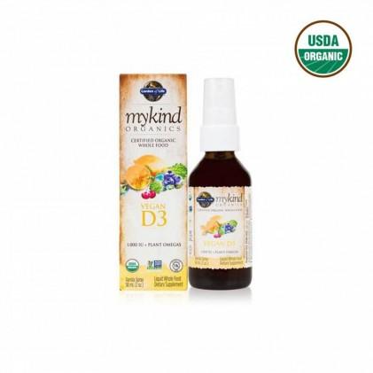 Vitamin D3 Mykind Organics dạng xịt 58ml 1