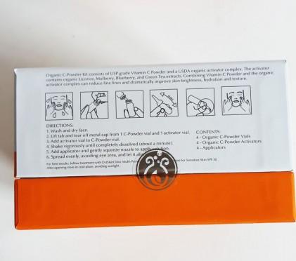 Huyết thanh vitamin C hữu cơ DrJ Skinclinic Organic C-Powder Kit 5