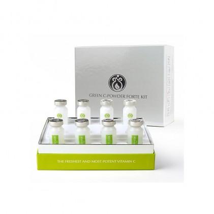 Huyết thanh vitamin C DrJ Skinclinic Green C-Powder Forte Kit 1