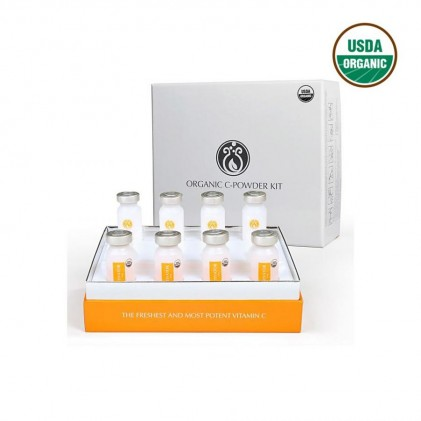 Huyết thanh vitamin C hữu cơ DrJ Skinclinic Organic C-Powder Kit 1