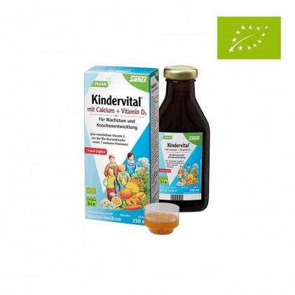 Dung dịch bổ sung canxi và vitamin D3 hữu cơ Salus 250ml 1