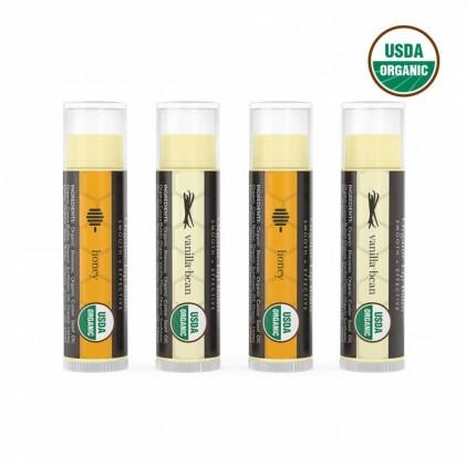 Dưỡng môi hữu cơ vị mật ong và vanilla Beauty By Earth 1