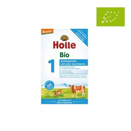 Sữa bò hữu cơ Holle 1 cho trẻ 0-6 tháng 400g 1