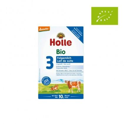 Sữa bò hữu cơ Holle 3 cho trẻ từ 10-12 tháng 600g 1