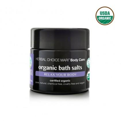 Muối tắm thư giãn cơ thể hữu cơ Nature's Brands 1