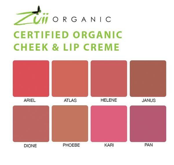 Kem má hồng & Son môi hữu cơ 2 trong 1 Zuii Organic 2