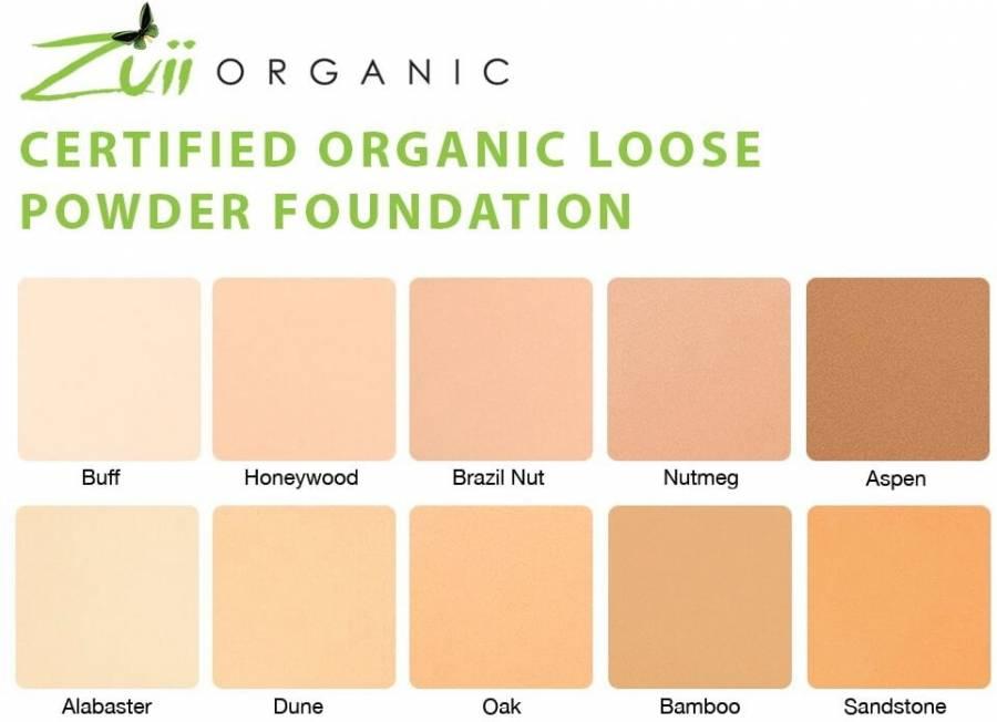 Phấn nền dạng bột Zuii Organic 2