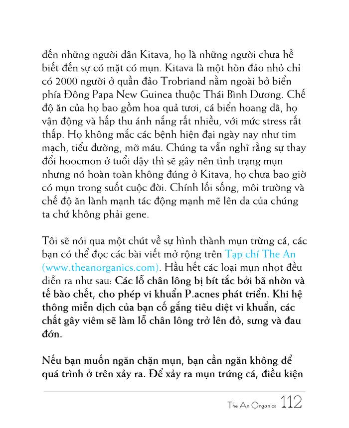 Ebook chăm sóc da toàn diện của The An Organics, Chương 9