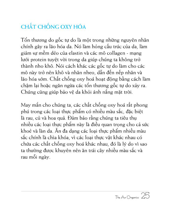 Ebook chăm sóc da toàn diện của The An Organics, Chương 3
