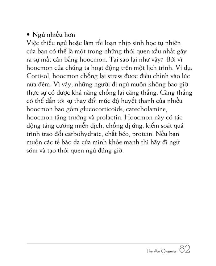 Ebook chăm sóc da toàn diện của The An Organics, Chương 6