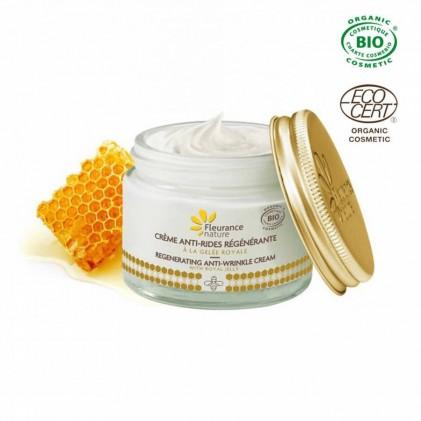 Kem dưỡng chống nhăn và làm săn chắc chiết xuất sữa ong chúa hữu cơ Fleurance 2
