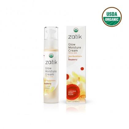 Kem dưỡng ẩm hữu cơ làm sáng da từ Hắc mai biển & Mâm xôi Zatik 1