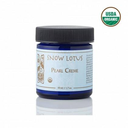 Kem dưỡng da từ ngọc trai thương hiệu Snowlotus, được chứng nhận hữu cơ USDA