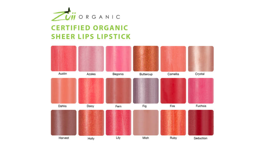 Son môi Zuii Organic Sheerlips Lipstick 1