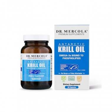 Cung cấp omega-3, dầu nhuyễn thể Krill Oil Dr Mercola