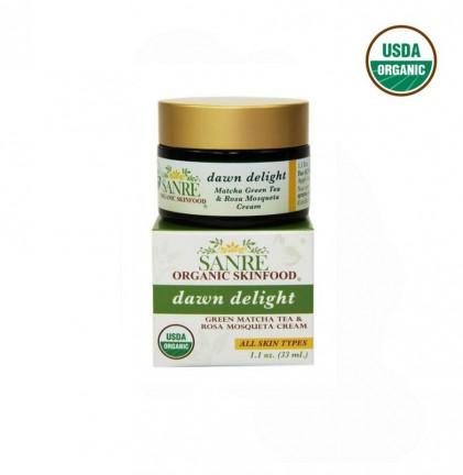 Kem dưỡng da từ matcha & hồng Mosqueta hữu cơ Sanre Organic