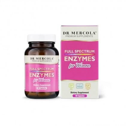 Viên uống cung cấp đầy đủ enzyme cho phụ nữ Dr Mercola