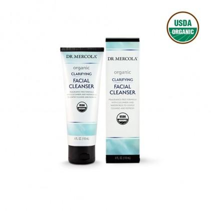 Sữa rửa mặt hữu cơ Dr Mercola Clarifying Facial Cleanser 118ml