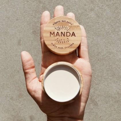 Chống nắng Manda Organic Sun Paste SPF50, 40g 3