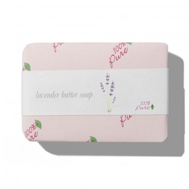 Xà bông oải hương 100% Pure Lavender Butter Soap