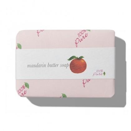 Xà bông quýt hồng 100% Pure Mandarin Butter Soap 1