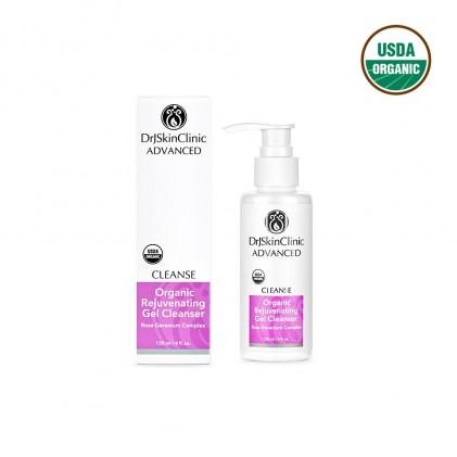 Sữa rửa mặt phục hồi & làm sáng da hữu cơ Drj Skinclinic Organic Rejuvenating Gel Cleanser 1