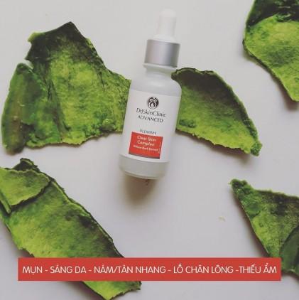 Serum làm sạch mụn & sáng da & thu nhỏ lỗ chân lông Drj Skinclinic Clear Skin Complex 2
