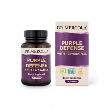 Bổ sung chất chống oxy hóa Resveratrol từ hạt nho Purple Defense Dr Mercola