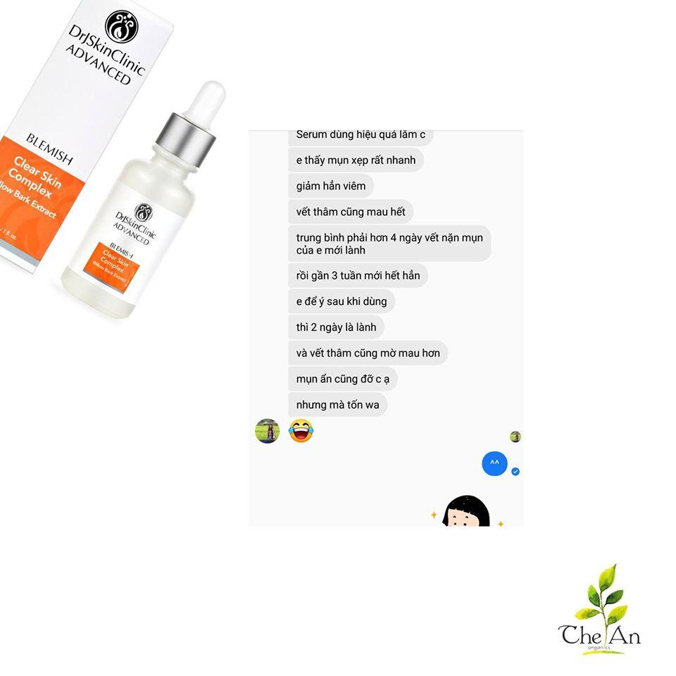 Serum làm sạch mụn & sáng da & thu nhỏ lỗ chân lông Drj Skinclinic Clear Skin Complex 13