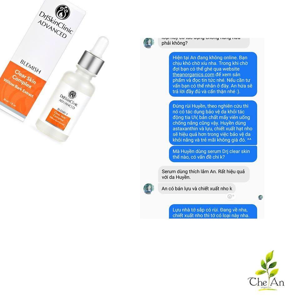 Serum làm sạch mụn & sáng da & thu nhỏ lỗ chân lông Drj Skinclinic Clear Skin Complex 14