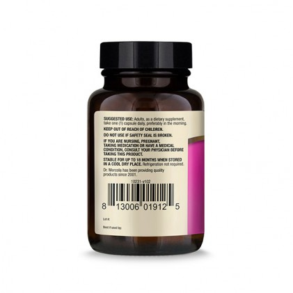 Cung cấp lợi khuẩn hoàn chỉnh cho phụ nữ Dr Mercola Complete Probiotics for Women (70 tỷ CFU) 2