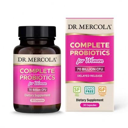 Cung cấp lợi khuẩn hoàn chỉnh cho phụ nữ Dr Mercola Complete Probiotics for Women (70 tỷ CFU) 1