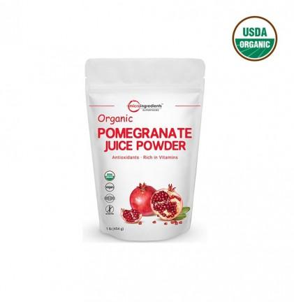Bột lựu hữu cơ Micro Ingredients Pomegranate Juice Powder 454g 1
