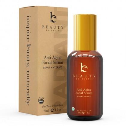 Serum sửa chữa, giữ ẩm & chống lão hóa hữu cơ Beauty By Earth 2