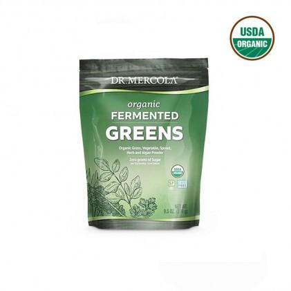 Hỗn hợp rau & tảo lên men Dr Mercola Organic Fermented Greens 1