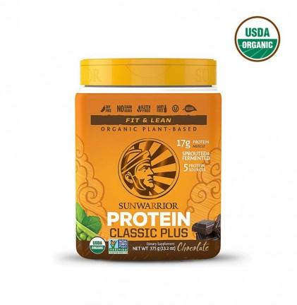 Bột protein thực vật hữu cơ Sunwarrior Classic Plus 1